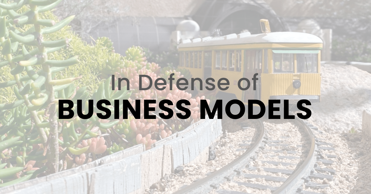 In Defense of Simple Business Models